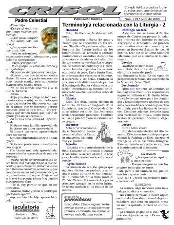 Crisol 2008 - El que busca encuentra
