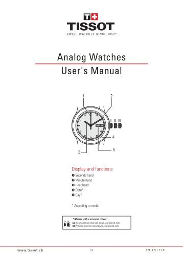 time timer watch instructions