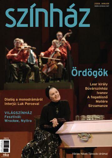 2008. január - Színház.net