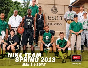 NIKE TEAM SPRING 2013 MEN'S & BOYS' -  Nike Team Sports