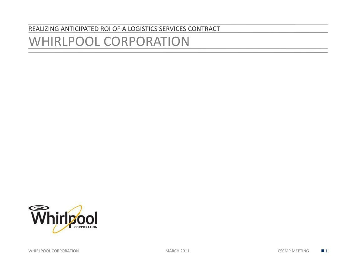 Whirlpool warehouse in Joliet fetches $72 million