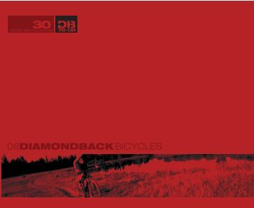 PDF catalog - Diamondback Bicycles
