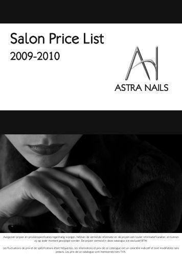 Hair and beauty shadeka salon price list for Cristophe salon prices