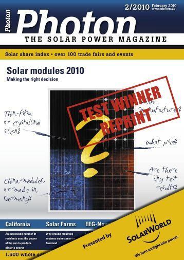 Download - SolarWorld UK