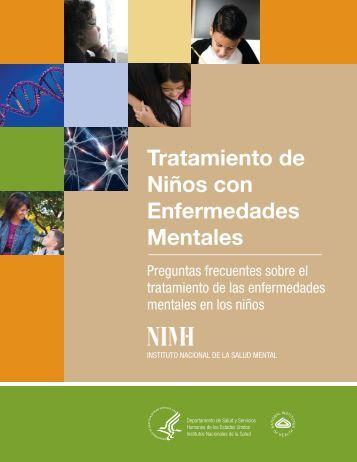 Tratamiento de Niños con Enfermedades Mentales - NIMH