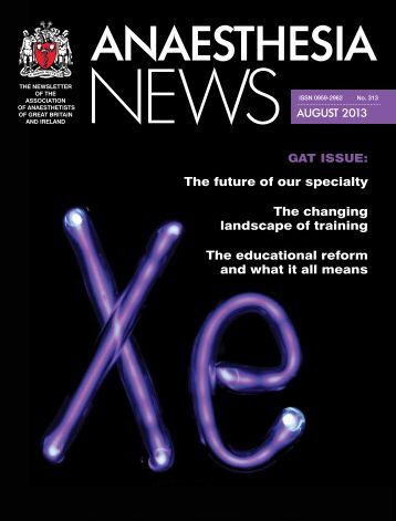 The future of our specialty The changing landscape of ... - aagbi