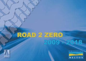 Road 2 Zero Strategy - Melton City Council