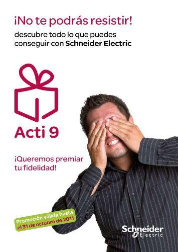 Descargar catálogo de regalos y puntos (PDF) - Schneider Electric