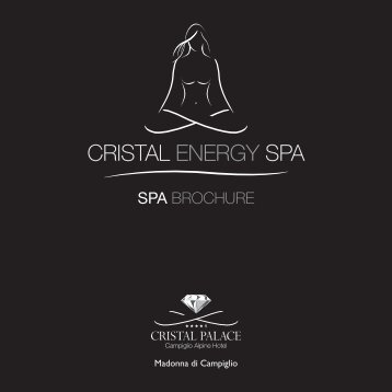 download spa price list - Cristal Palace Hotel Madonna di Campiglio