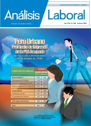 ESTRUCTURA DEL MERCADO INGRESO Sector Privado(1 ... - AELE
