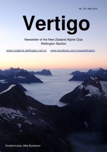 May (4.4mb) - New Zealand Alpine Club