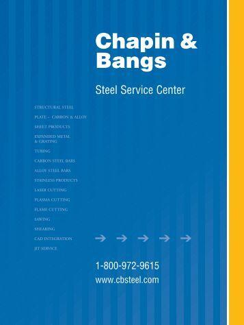 C&B- Catalog PDF - Chapin & Bangs