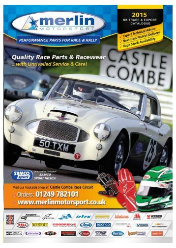 Merlin Motorsport Catalogue 2015