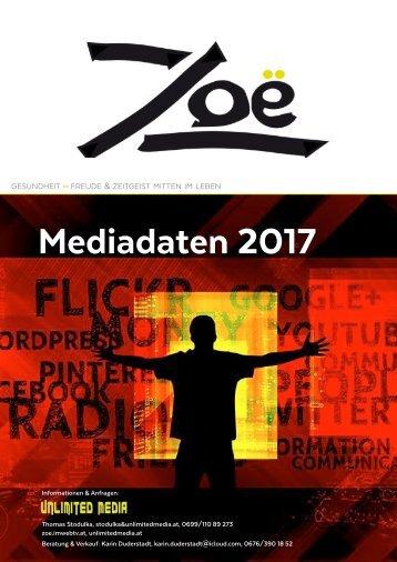 Zoë Mediadaten