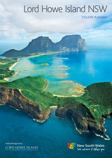 Lord Howe Island NSW - Sydney's official guide to events ...