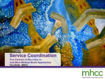Service Coordination - Mental Health Coordinating Council