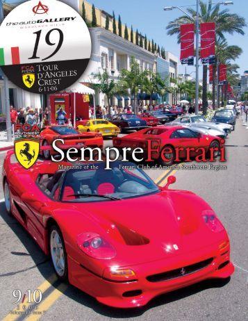 dear fca members ferrari club of america southwest region. Cars Review. Best American Auto & Cars Review