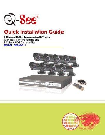 Q See Qt Series Manual - udiehlde