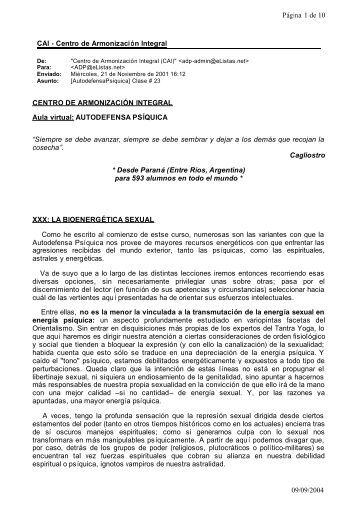CAI - Centro de Armonización Integral Página 1 de 10 09/09/2004 ...