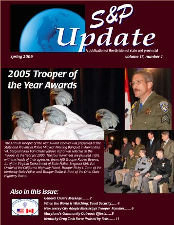 2005 Trooper of the Year Awards - OJP Information Technology ...