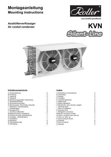 KVN Montageanleitung Mounting instructions - Walter Roller GmbH ...