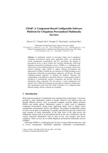 component based software engineering research papers Guest editorial to the special issue on component-based software engineering and software architecture encompassing research papers.