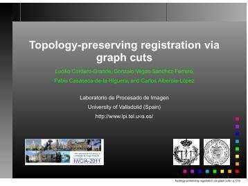 Topology-preserving registration via graph cuts - Laboratorio de ...