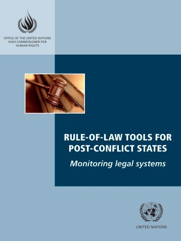 Monitoring legal systems - Office of the High Commissioner on ...