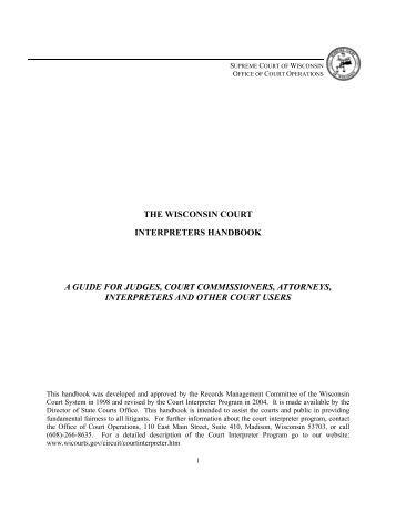 criminal law handbook wisconsin