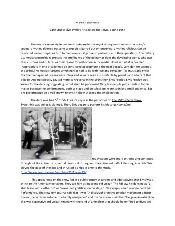 case study of elvis presley Cascc case study : elvis presley enterprisesabout elvis presley enterprises the estate of elvis presley/the elvis presley trust elvi.