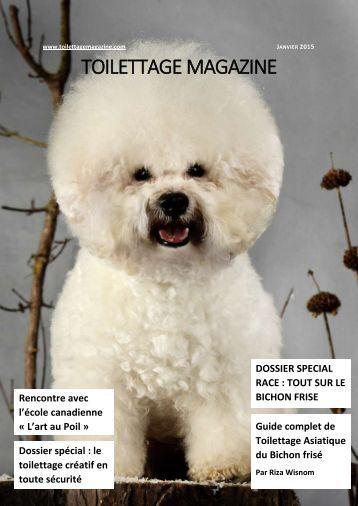 TOILETTAGE MAGAZINE Janvier 2015