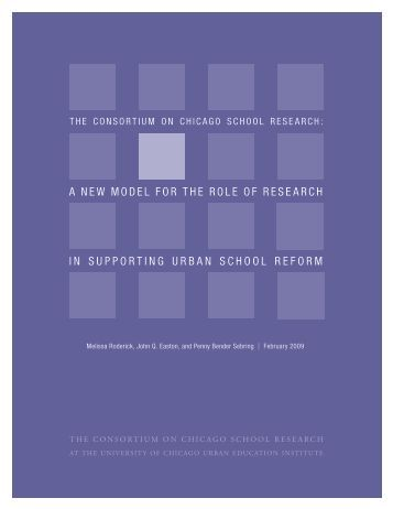 A New Model for the Role of Research in Supporting - UChicago ...