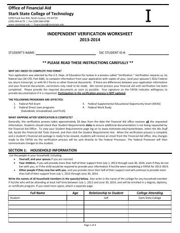 Worksheets Fafsa Independent Verification Worksheet independent verification worksheet delibertad fafsa delibertad