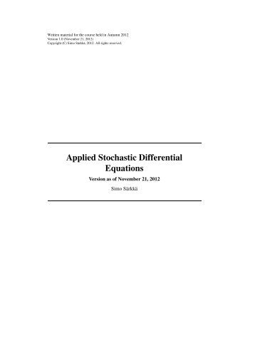 stochastic processes ross solution pdf