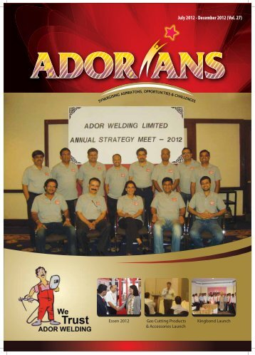 View Magazine - Ador Welding Ltd