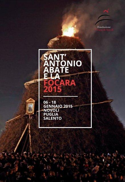 SANT' ANTONIO ABATE E LA FòcArA 2015