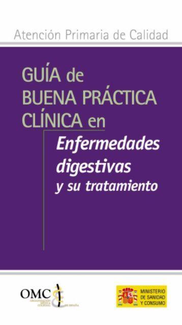Enfermedades digestivas y su tratamiento - CGCOM