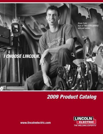 E1.10 2009 Product Catalog (pdf) - Lincoln Electric