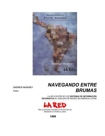 CAPÍTULO 5: ANÁLISIS DE RIESGOS DE DESASTRES ... - La RED