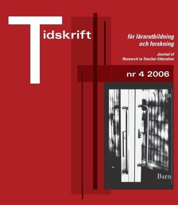 Ladda ner utgåvan. - Lärarutbildning - Umeå universitet