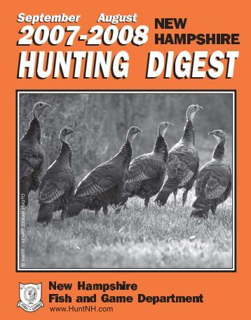 Tick borne disease bulletin 2008 new hampshire for Department fish and game