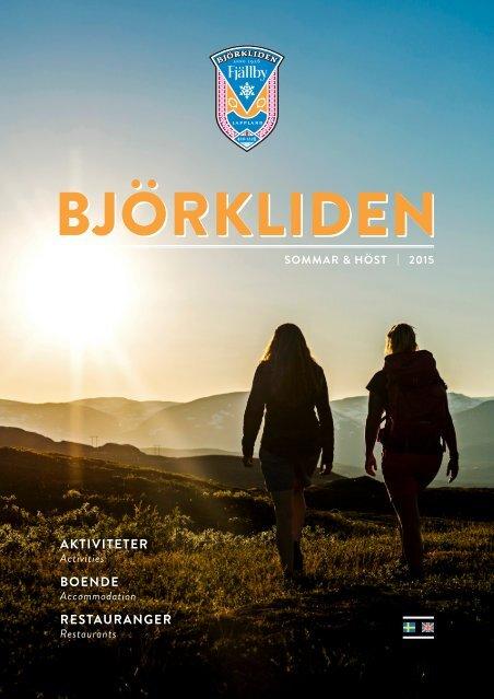 BJÖRKLIDEN Sommar & Höst 2015
