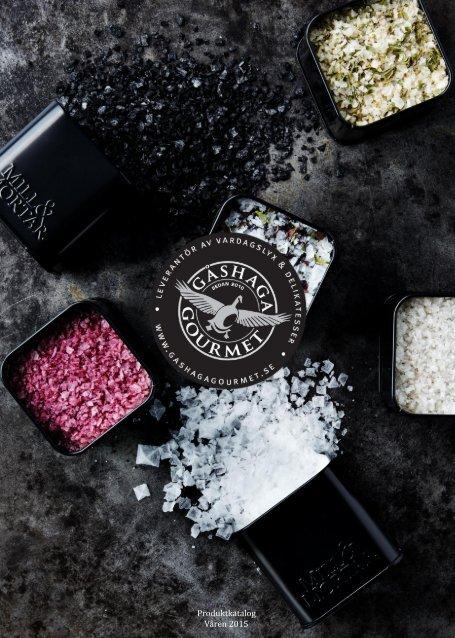 Gashaga Gourmet Produktkatalog Våren 2015
