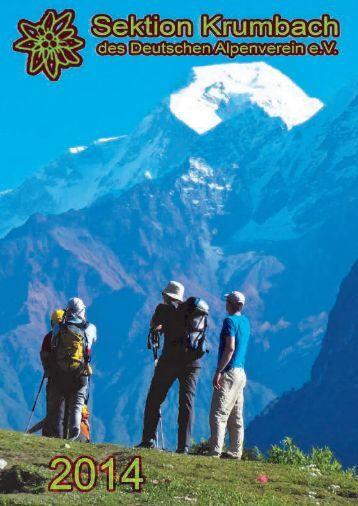Bergtour - bei der Sektion Krumbach