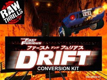 CONVERSION KIT - Raw Thrills, Inc.