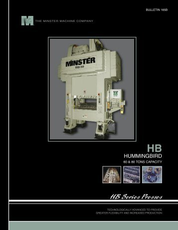 HB Series Presses - The Minster Machine Company