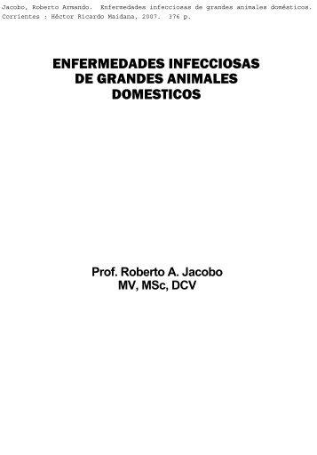enfermedades infecciosas de grandes animales domesticos
