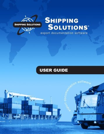 to Download the Shipping Solutions 9 User Guide