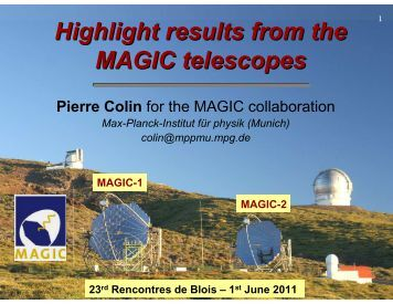 25th rencontres de blois particle physics and cosmology