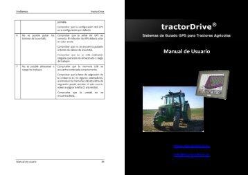 Manual de Usuario - tractorDrive